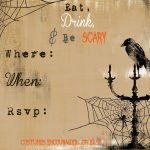 Scary Halloween Invitations Printable Free | Secrets Of A Modern   Free Printable Halloween Invitations For Adults