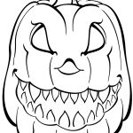 Scary Pumpkin Coloring Page | Free Printable Coloring Pages   Free Halloween Pumpkin Printables