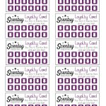 Scentsy Loyalty Card … | Scentsy In 2019…   Free Printable Scentsy Business Cards