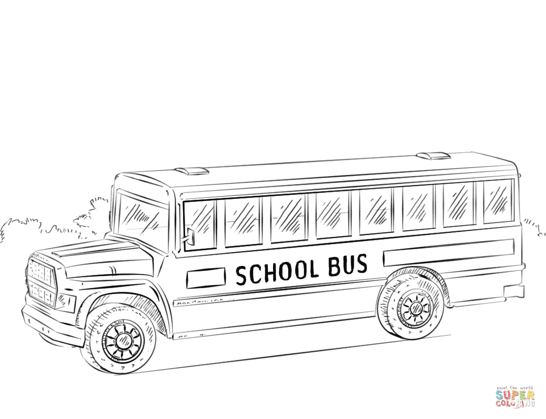 School Bus Coloring Pages | Free Coloring Pages - Free Printable School Bus Coloring Pages