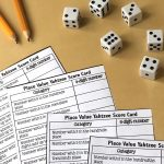Score Some Points With Place Value Yahtzee! | Math | Math, Fifth   Place Value Game Printable Free