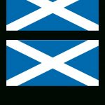 Scotland Flag   Download This Free Printable Scotland Template A4   Free Printable Scottish Flag