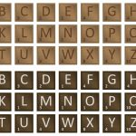 Scrabble Letter Tiles Set   Download Free Vector Art, Stock Graphics   Free Printable Scrabble Tiles