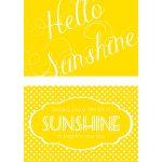 Send A Box Of Sunshine {Free Printables} | Family Goals/themes | Box   Box Of Sunshine Free Printable