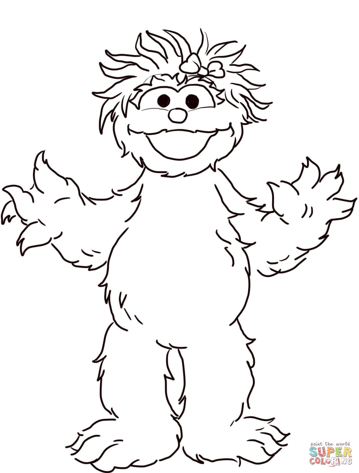 Sesame Street Coloring Pages | Free Coloring Pages - Free Printable Coloring Pages Sesame Street Characters