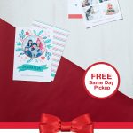 Share The Merry With Two Sided Flat Cards! Get It Today With Free   Free Printable Flat Christmas Cards