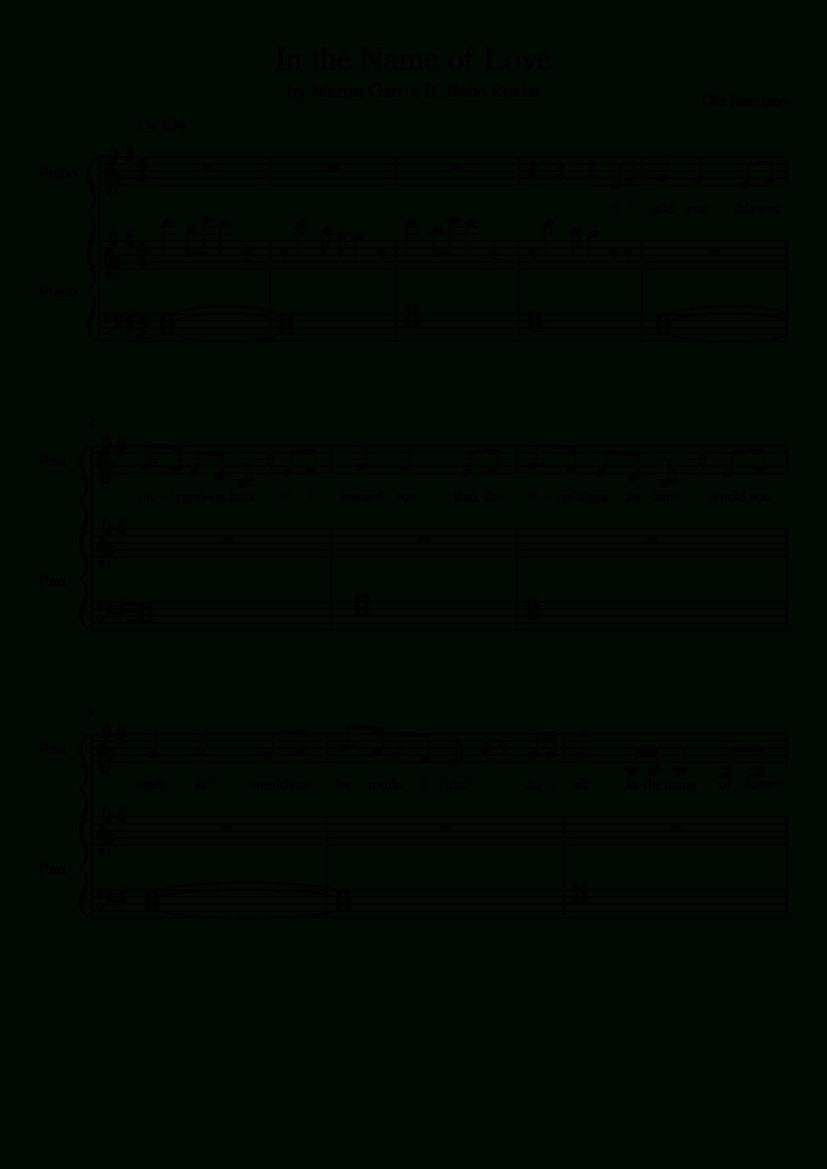 Sheet Music Madeoleberntsen For 2 Parts: Piano   Piano   Piano - Bad Day Piano Sheet Music Free Printable