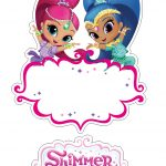 Shimmer And Shine Free Printable Cake Toppers.   Oh My Fiesta! In   Shimmer And Shine Free Printables