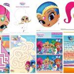 Shimmer And Shine Free Printable Nickelodeon Activity Book.   Oh My   Shimmer And Shine Free Printables