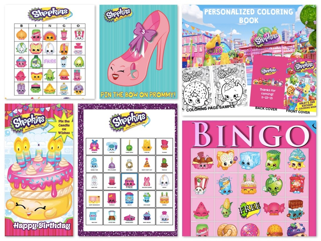 Shopkins Birthday Party Planning Ideas & Supplies | Theme Parties - Free Shopkins Party Printables