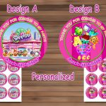 Shopkins Birthday Party, Shopkins Birthdaymagianrainbow On Zibbet   Shopkins Thank You Cards Free Printable