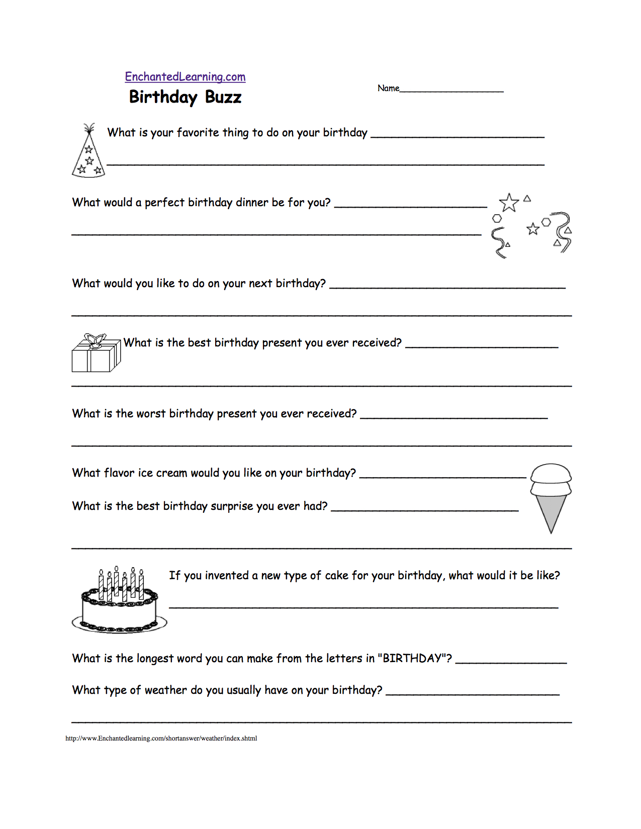 Short Answer Quizzes - Printable - Enchantedlearning - Free Printable Black History Trivia Questions And Answers