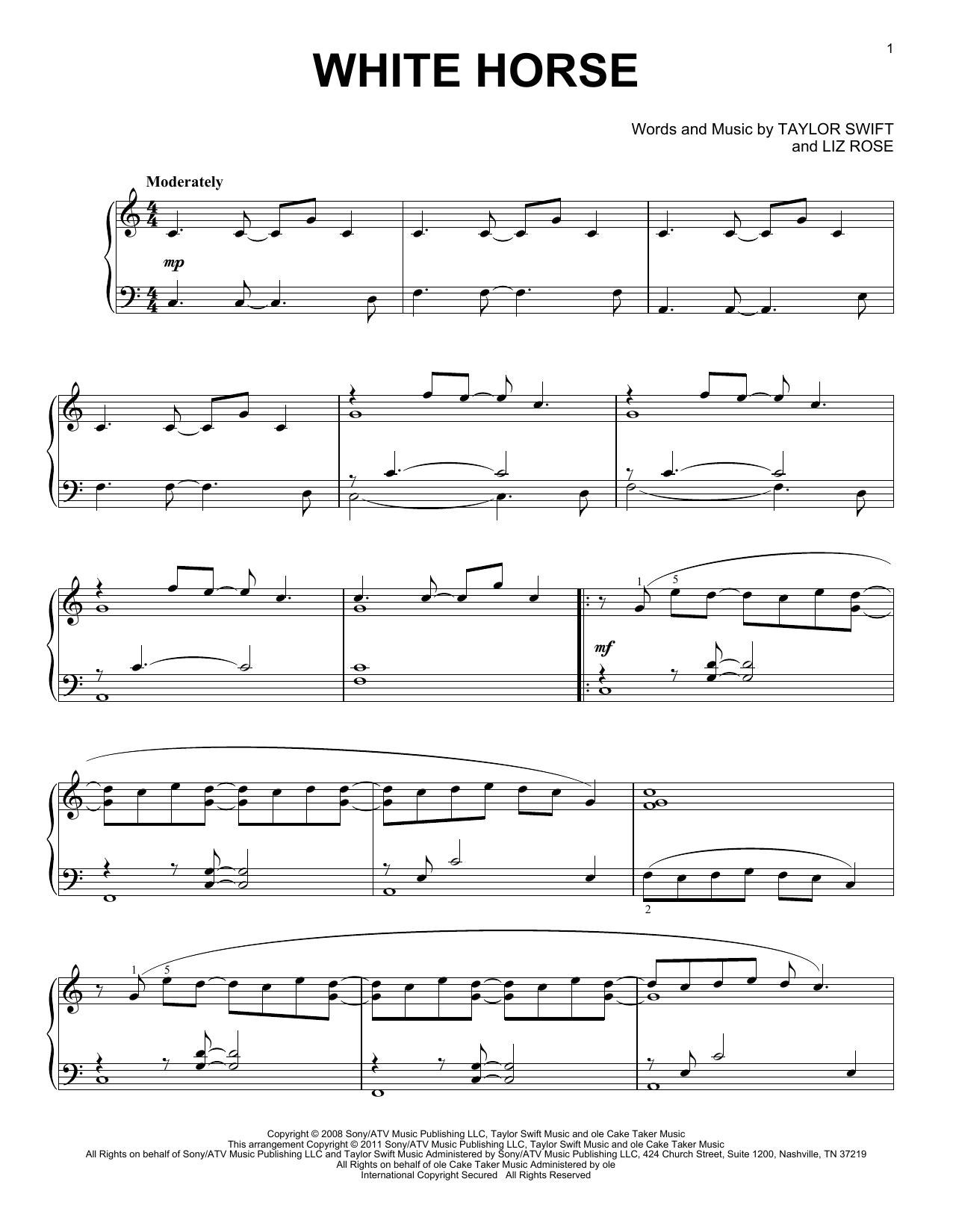 Should've Said Notaylor Swift - Hal Leonard - Prima Music - Taylor Swift Mine Piano Sheet Music Free Printable