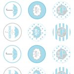 Showered From Above Rain Boy Baby Shower Printables Planning Ideas   Free Printable Baby Shower Favor Tags