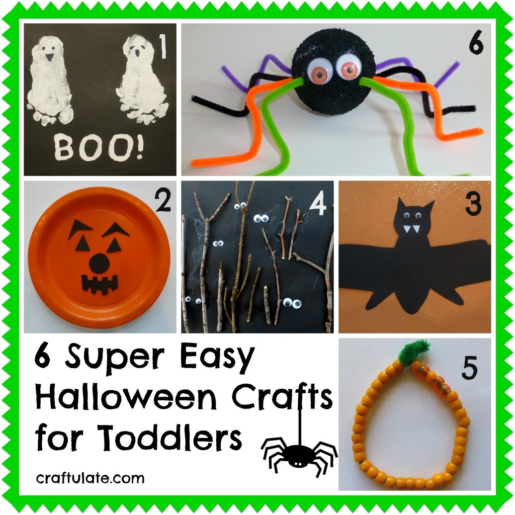 Simple Halloween Crafts For Kids - Free Printable Calendar, Blank - Halloween Crafts For Kids Free Printable