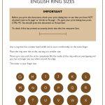 Size Guide   Free Printable Ring Sizer Uk