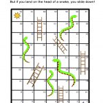 Snakes And Ladders Board Game: Free And Printable Worksheet   All Esl   Free Snakes And Ladders Printable