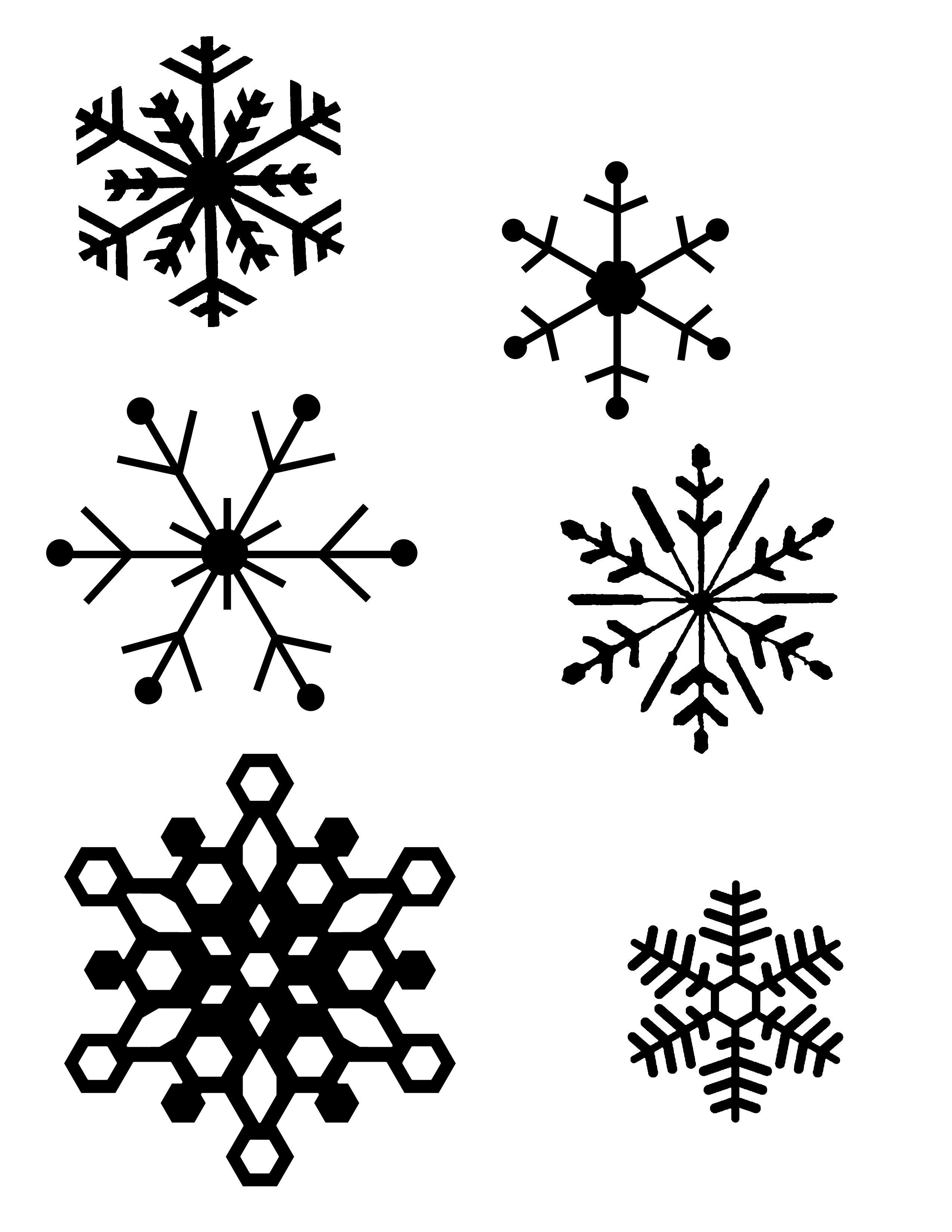 Snowflake Patterns (For Hot Glue Gun Snowflakes) I Think I Will Be - Snowflake Template Free Printable