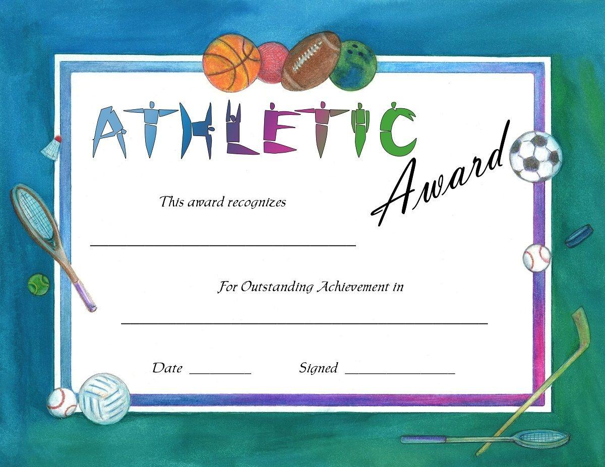 Soccer Award Certificates Template | Kiddo Shelter | Blank - Free Printable Sports Day Certificates