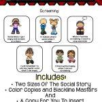 Social Story   Screaming | Preschool Ideas | Social Stories   Free Printable Social Stories For Kids