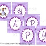 Sofia+The+First+Birthday+Banner+Printable+Free | Sofia In 2019   Sofia The First Cupcake Toppers Free Printable
