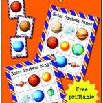 Solar System Bingo | Preschool Teaching Resources And Activities   Free Printable Preschool Teacher Resources