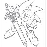 Sonic Coloring Pages | Sonic The Hedgehog Coloring Pages Free   Sonic Coloring Pages Free Printable