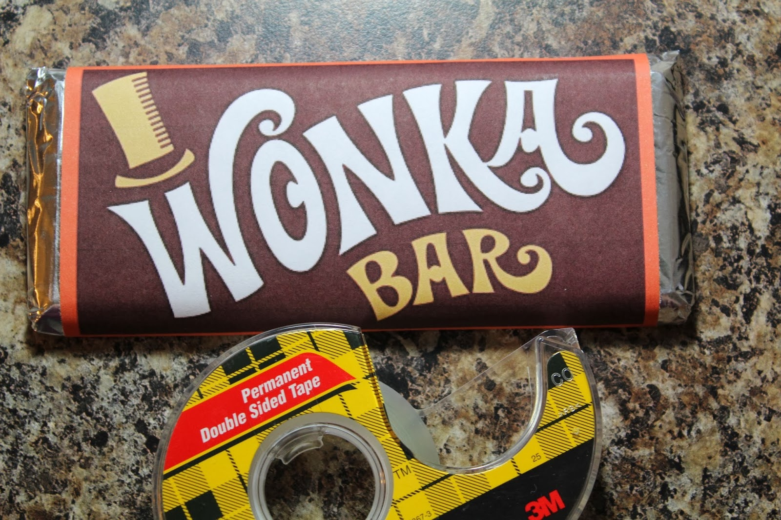 Spark And All: Charlie And The Chocolate Factory - Free Printable Wonka Bar Wrapper Template