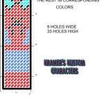 Spider Man Bookmark Plastic Canvas Patternmichael Kramer   Free Printable Plastic Canvas Patterns Bookmarks
