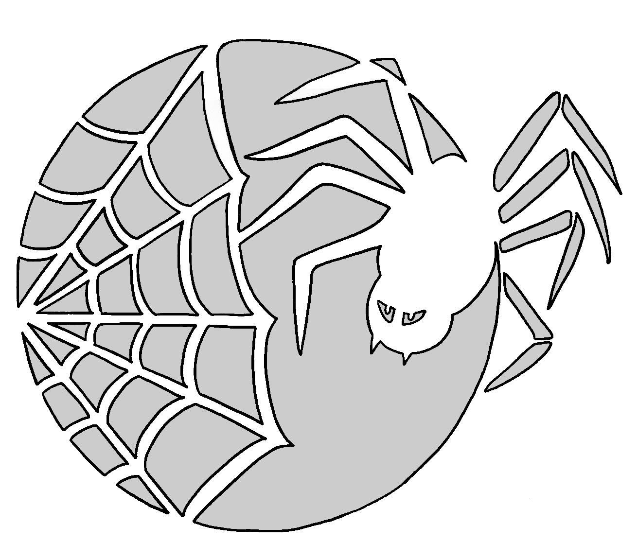 Spider Web Pattern | Spider Man Party In 2019 | Pumpkin Carving - Spider Web Stencil Free Printable
