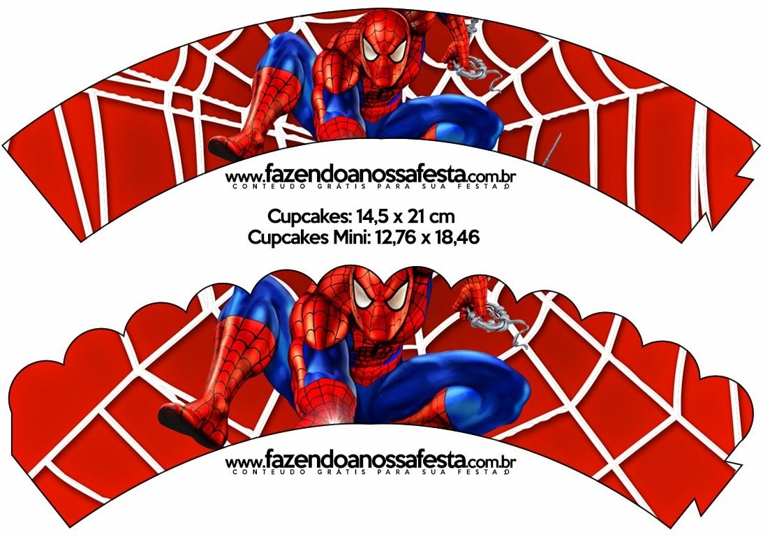Spiderman: Free Party Printables And Images.   Bryce Bday Ideas - Free Spiderman Printables