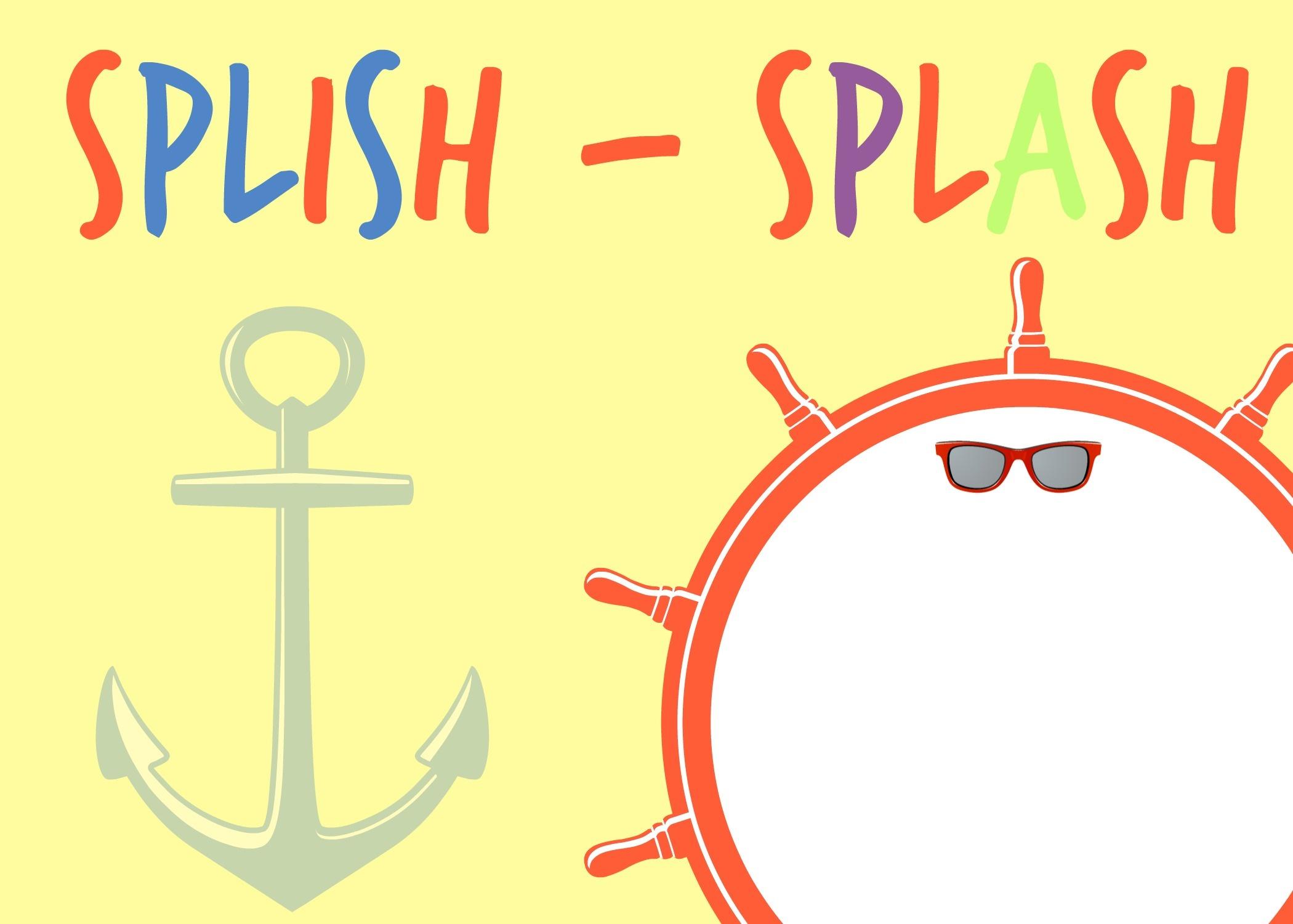Splish Splash Party And Free Printables - Place Of My Taste - Free Printable Water Park Birthday Invitations