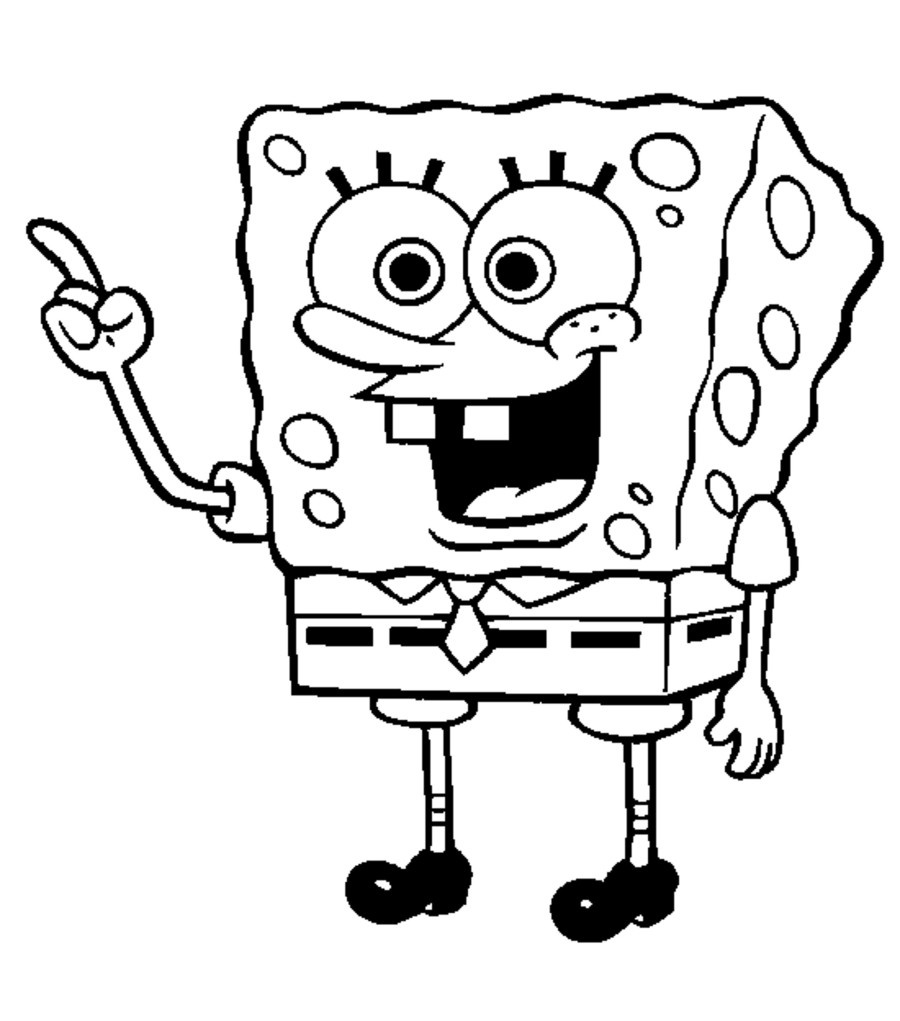 Coloring Books And Pages : Launching Spongebob Squarepants ...