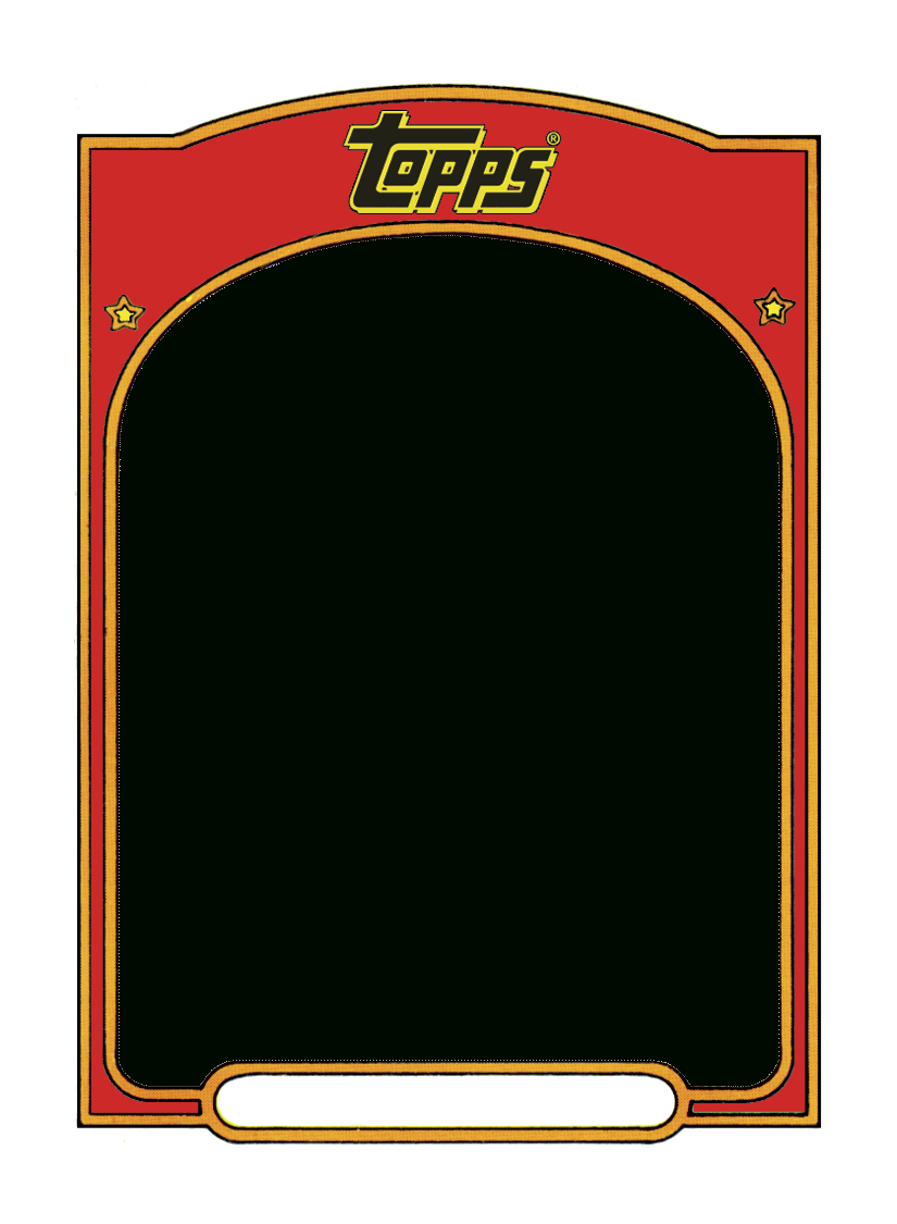 Sports Trading Card Templet. | Craft Ideas | Trading Card Template - Free Printable Baseball Card Template