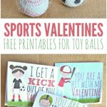 Sports Valentines Printables   Candy Free Valentine's Day Ideas   Free Printable Football Valentines Day Cards