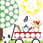 Spring Do A Dot Printables For Preschoolers | Travel Road Trip Ideas   Do A Dot Art Pages Free Printable