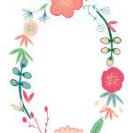 Spring Flowers   Free Printable Birthday Invitation Template   Free Printable Invitation Templates