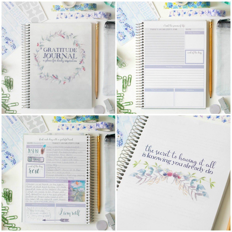 Spring Into Gratitude With Our Gratitude Journal Giveaway + Free - Free Printable Gratitude Journal