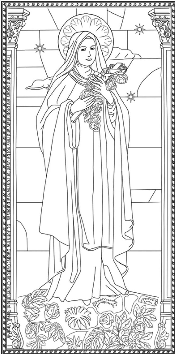 St. John The Baptist Roman Catholic Church | Front Royal, Va | 540 - Free Catholic Coloring Pages Printables