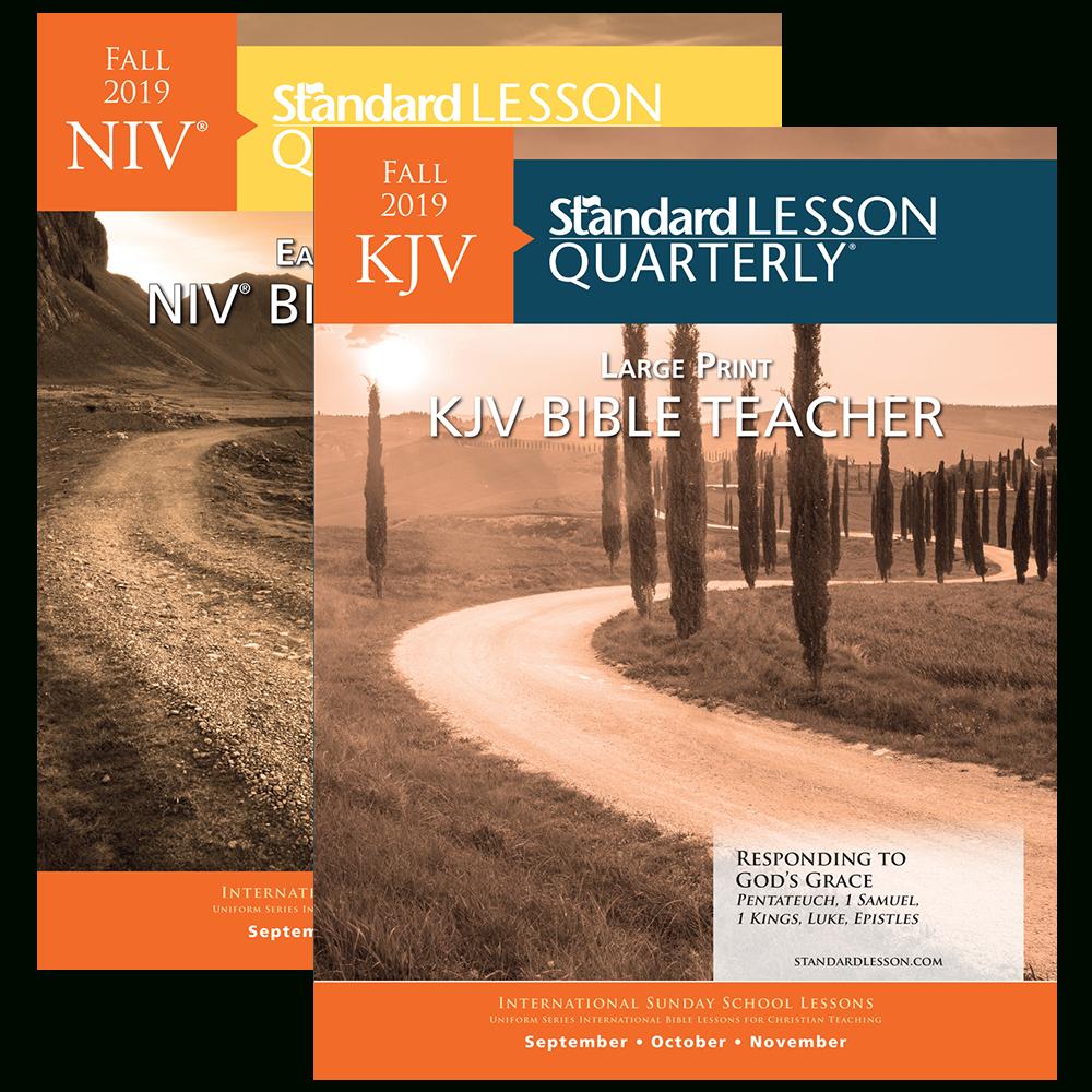 Standard Lesson Quarterly   Standard Lesson - Free Printable Bible Lessons For Youth Kjv