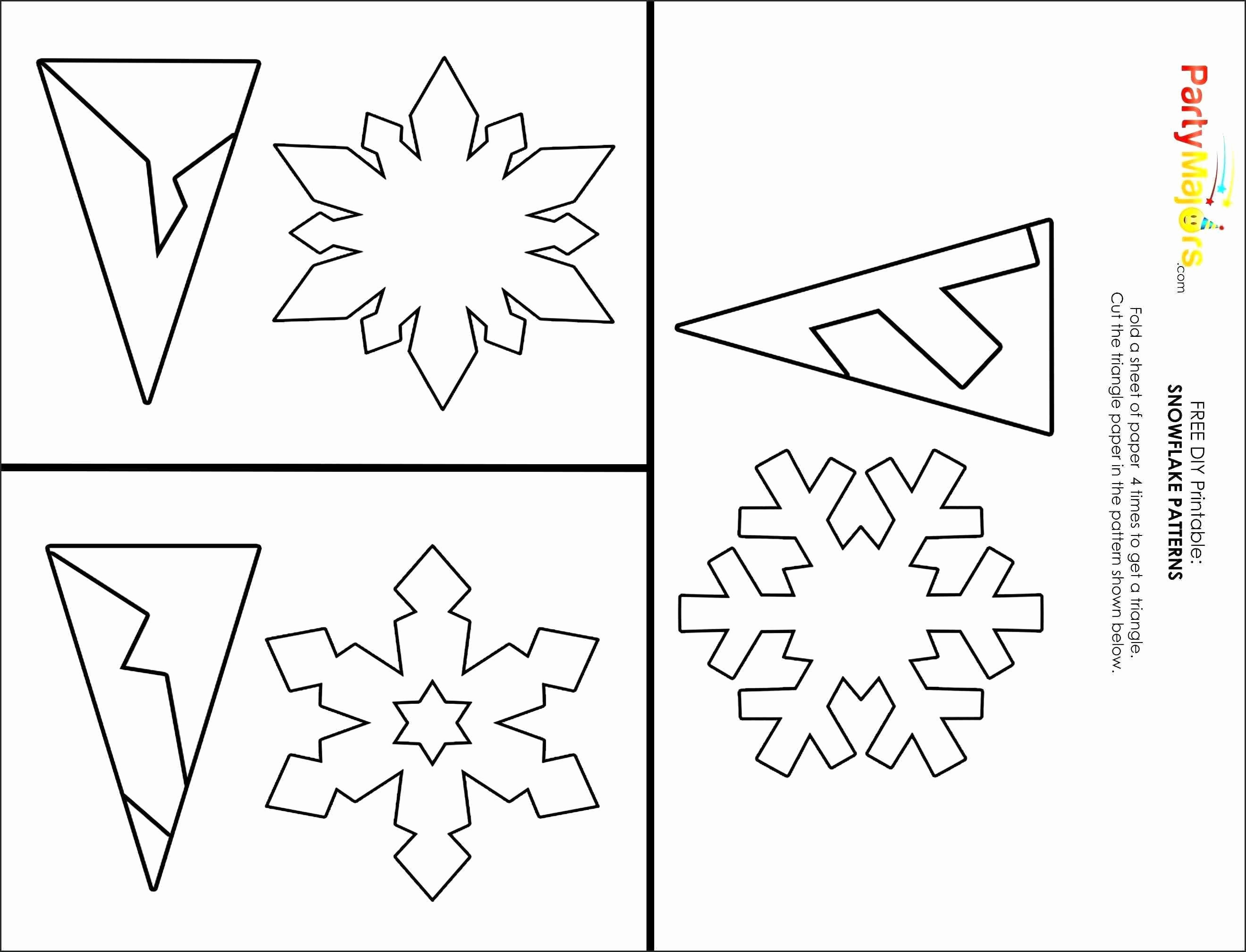 Star Wars Paper Snowflakes Lovely Printable Snowflake Cutouts 30 - Snowflake Template Free Printable