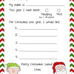 Stationary For Kids To Write Santa Free Stationery Templates Deco   Free Printable Christmas Stationery For Kids