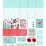 Stick To Your Plan, Free Printable For Personal Use Only   Fits Erin   Printable Erin Condren Stickers Free