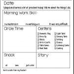Students' Stuff | Preschool Fun | Preschool Daily Report, Preschool   Preschool Assessment Forms Free Printable