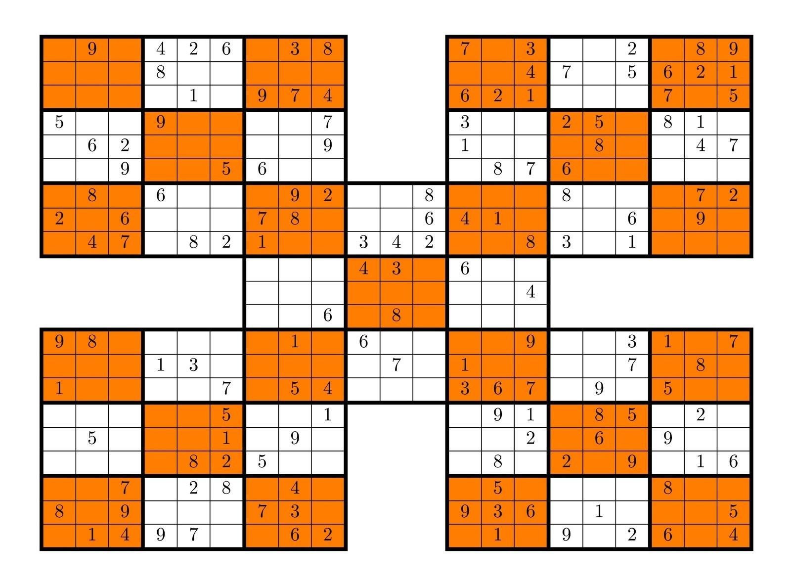 Sudoku High Fives | Activity Shelter - Sudoku High Fives Free Printable