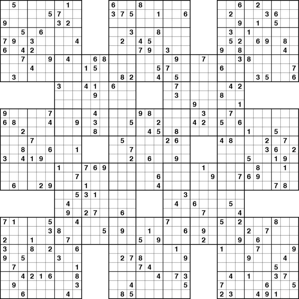 Sudoku High Fives Printable | Kiddo Shelter | Educative Puzzle For - Sudoku High Fives Free Printable