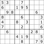 Sudoku   Wikipedia   Free Printable Suduko