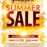 Summer Sale Psd Flyer Template Free Download #9361 | Flyers | Flyer   Free Printable Flyers For Parties
