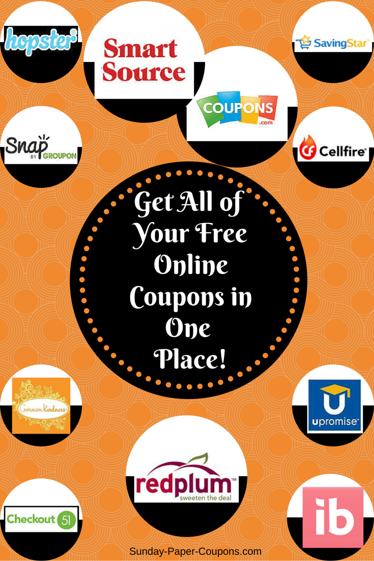 Sunday Paper Coupons | Inserts & Free Coupons Online! | Coupons - How To Get Free Printable Grocery Coupons