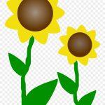 Sunflower Clip Art Free Printable Clipart Panda Free   Sunflower   Free Printable Clipart Of Flowers